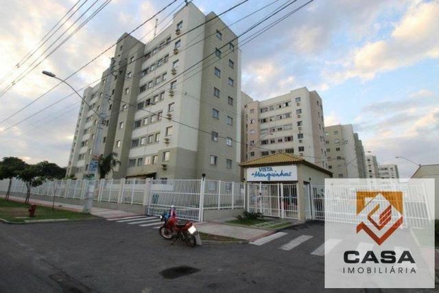 E.R-Apartamento com 2 quartos com quintal perto da praia de Manguinhos