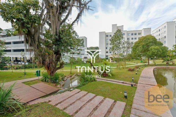 Apartamento com 2 dormitórios à venda, 50 m² por r$ 240.000 - pinheirinho - curitiba/pr