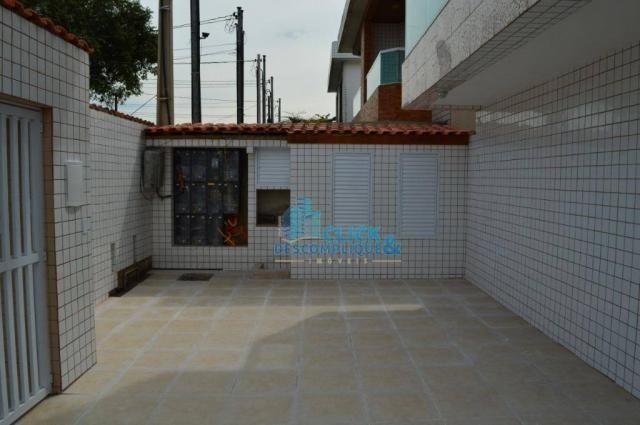 Casa com 2 dormitórios à venda, 87 m² por R$ 380.000,00 - Estuário - Santos/SP - Foto 13
