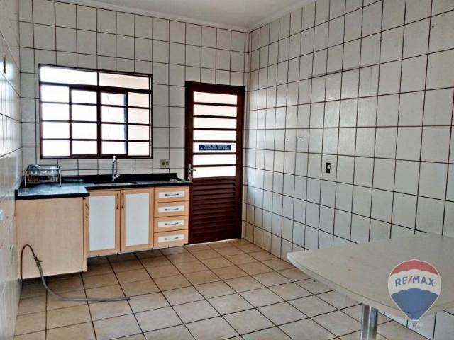 Casa 02 dormitórios, locação- Centro - Cosmópolis/SP