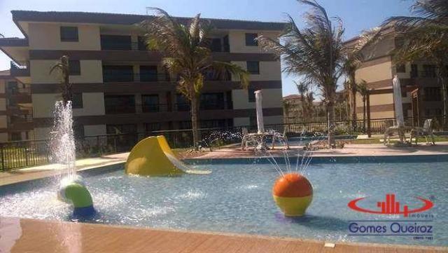 Apartamento com 3 dormitórios à venda, 118 m² - Porto das Dunas - Aquiraz/CE - Foto 4