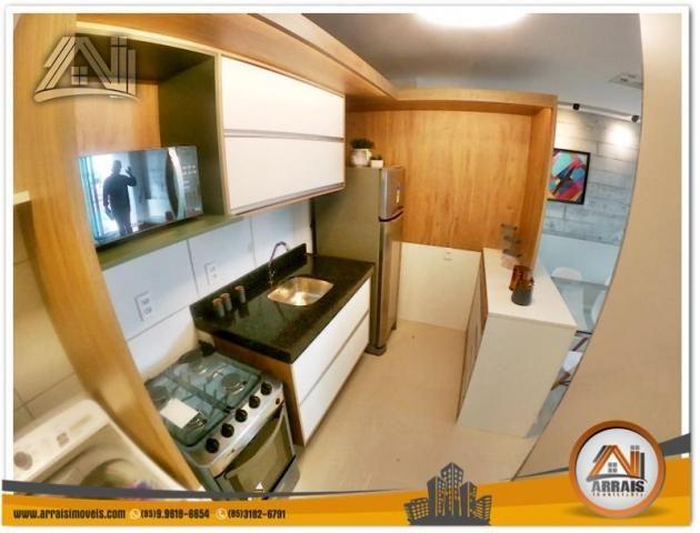 Apartamento com 2 Quartos mais Suite Master à venda no Bairro Benfica - AQUARELA CONDOMÍNI - Foto 16