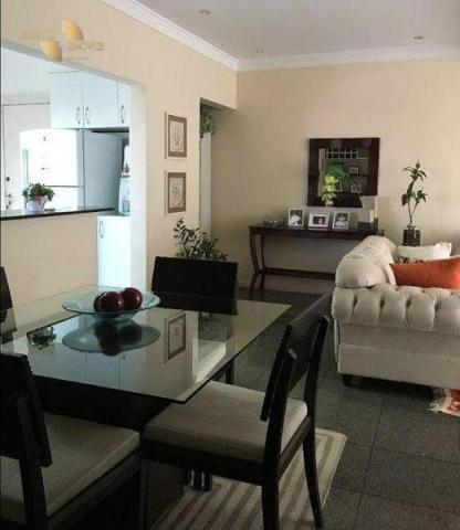 Apartamento com 3 dormitórios à venda, 120 m² por R$ 490. - Bosque da Saúde - Cuiabá/MT - Foto 4