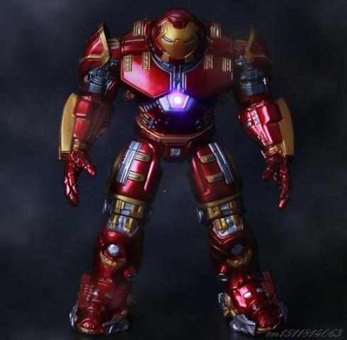 Homem de Ferro com Armadura Anti Hulk