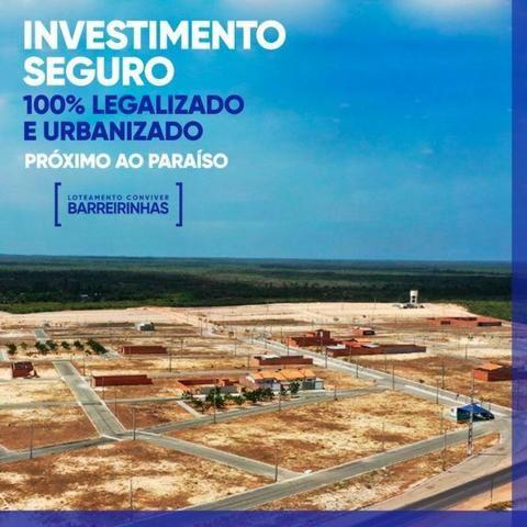 09-Oportunidade!Lotes em Barreirinhas com mensais de R$300 - Foto 3