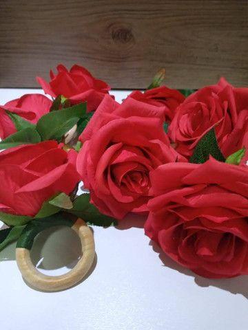 Porta guardanapo flor - Foto 4
