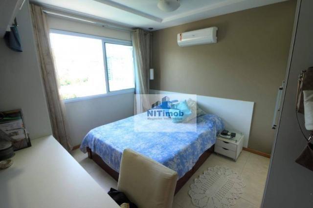Excelente apartamento 3 quartos, frente, andar alto, parcialmente mobiliado, lazer complet - Foto 14