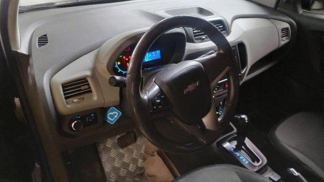 Spin lt 1.8 ex taxi, completa+gnv+ lindo + aprovação imediata, s/compr renda - Foto 5