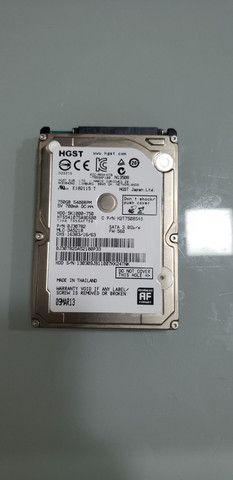 HD Notebook 750GB + Brinde   Adaptador Cady