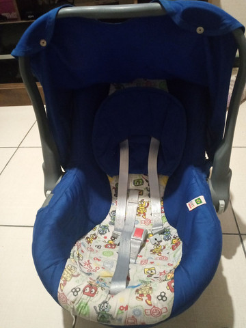Vendo bebê conforto galzerano e ninho de bebê  - Foto 2