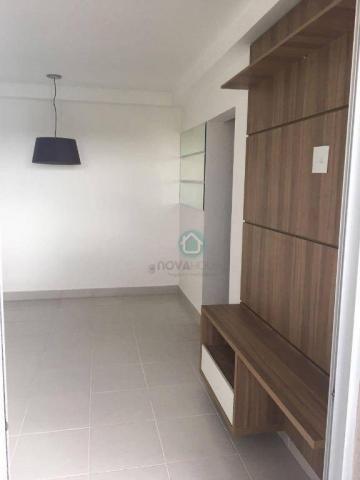 Apartamento com 2 dormitórios e churrasqueira na sacada - YES - Foto 15