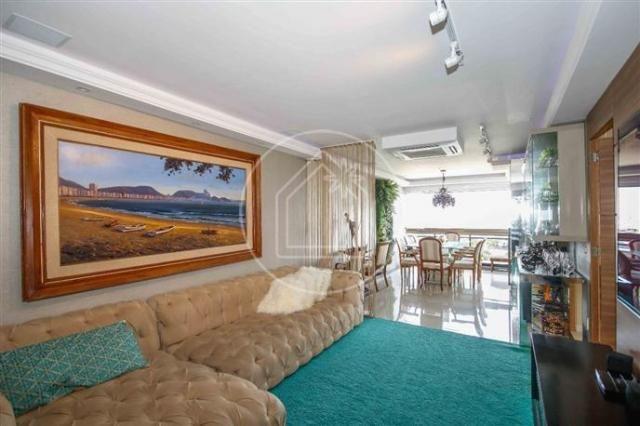 Apartamento à venda com 3 dormitórios em Barra da tijuca, Rio de janeiro cod:828684 - Foto 6