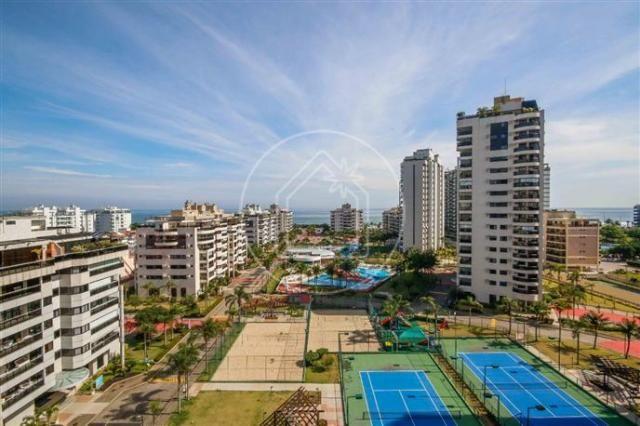 Apartamento à venda com 3 dormitórios em Barra da tijuca, Rio de janeiro cod:828684 - Foto 15