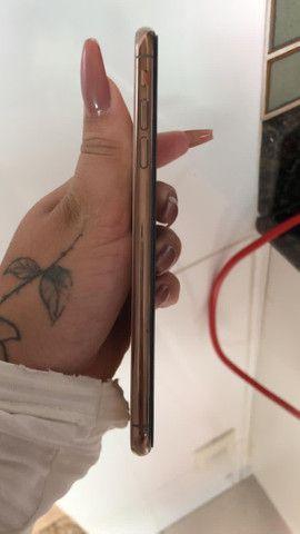 IPhone XS Max 64 gb vendo ou troco aceito cartão com juros da máquina  - Foto 4