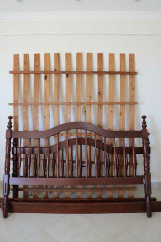 Cama de madeira tamanho Queen - Foto 3