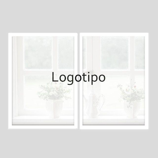 Seu logotipo em quadro decorativo