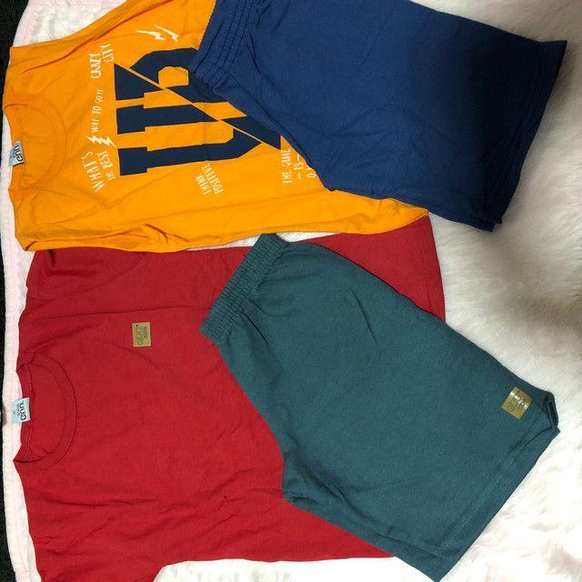 Lindos conjuntos  com várias estampa e  cores  - Foto 2