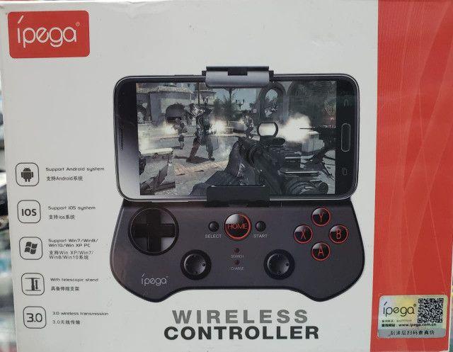 Controle Gamer Ipega Varios modelos para Celular ou Tablet