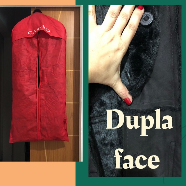 Casaco de pele fake - Foto 3