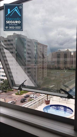 Apartamento com 1 dormitório para alugar, 42 m² por R$ 1.150,00/mês - Sul - Águas Claras/D - Foto 16