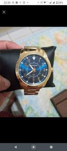 Relógio dourado - Foto 3