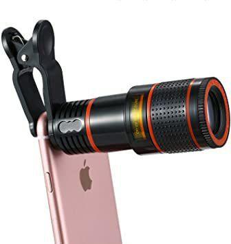 Lente Zoom 8x Câmera Celular Para Smartphones - Foto 5