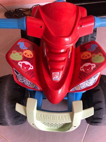Quadriciclo elétrico 12v bandeirantes  - Foto 5