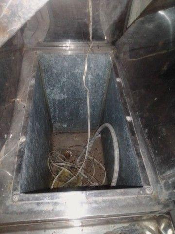 Troco carrinho de churrasco com compartimento de refrigerante.por computador completo - Foto 5