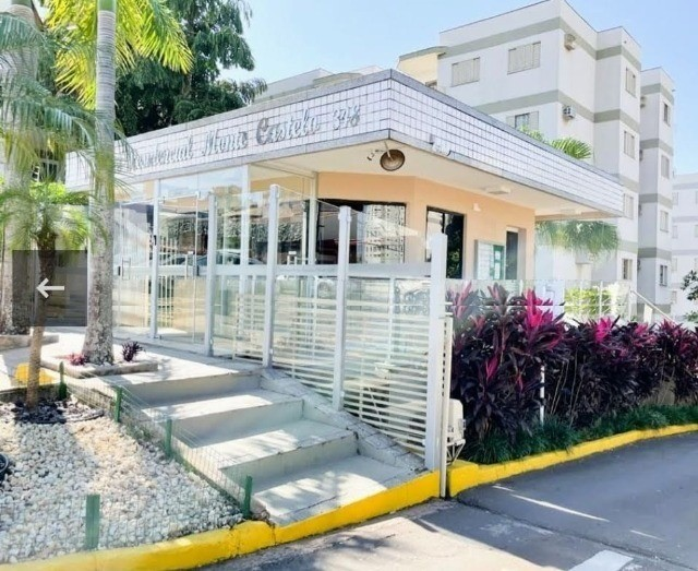 Lindo Apartamento Condomínio Parque Residencial Monte Castelo