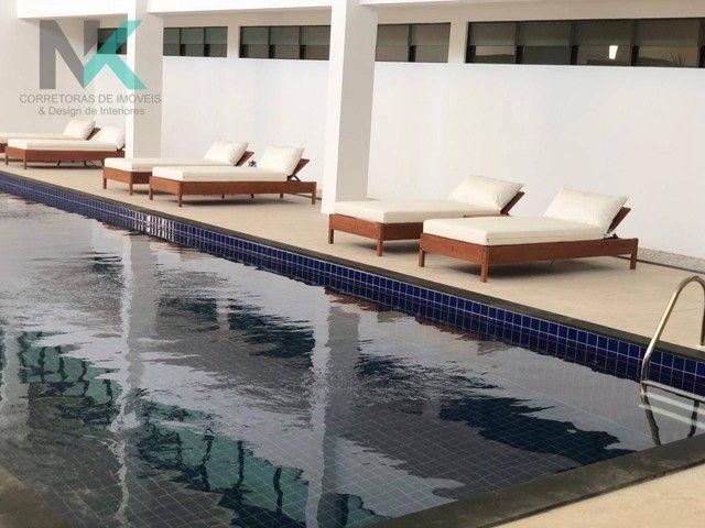 Apartamento com 3 dormitórios à venda, 114 m² por R$ 811.023,29 - Guaxuma - Maceió/AL - Foto 5