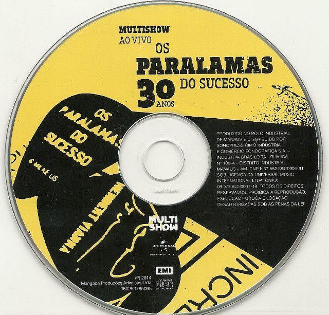CD - Paralamas do Sucesso - 30 anos Ao vivo - Foto 3