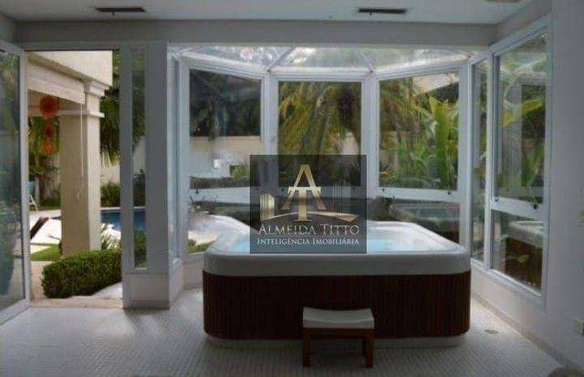 Maravilhosa Casa para Locação com 4 Suítes e 850 m² de Área Construída em Alphaville - Res - Foto 3