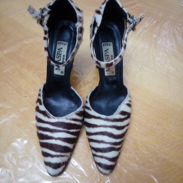 Sapato social salto alto italiano - Foto 2