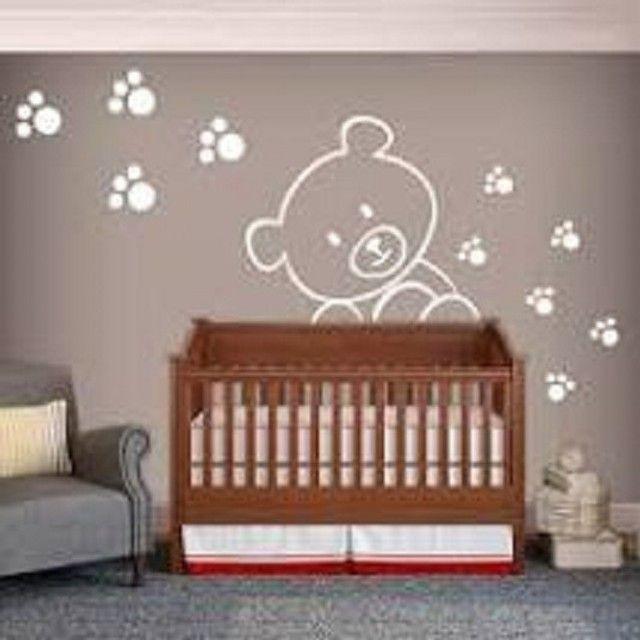 desenhos  pinturas    decoracao  quarto  infantil - Foto 5