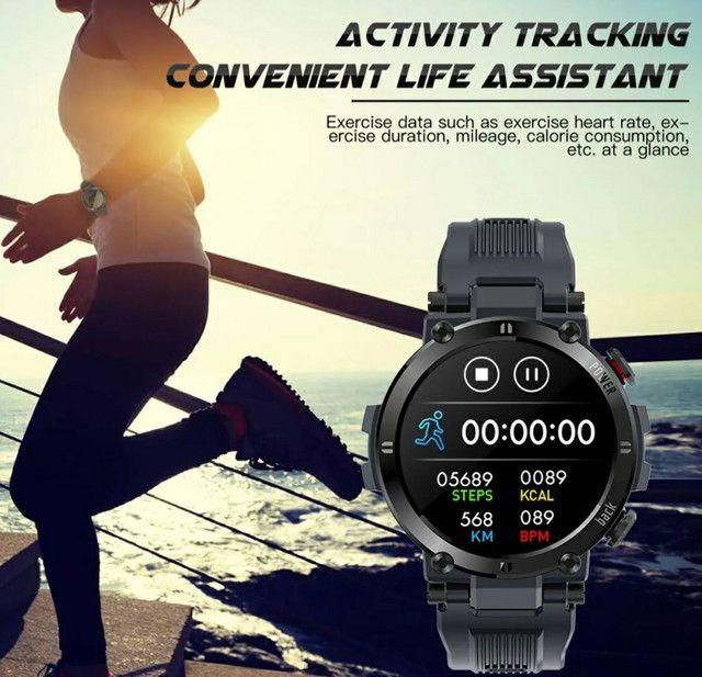 Smartwatch Senbono D13 (Leia a descrição) - Foto 3