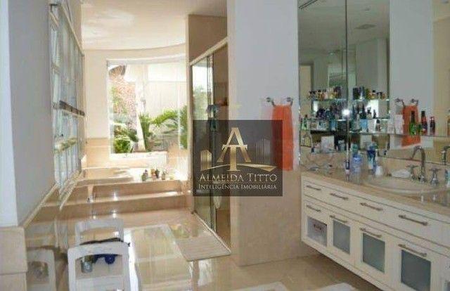 Maravilhosa Casa para Locação com 4 Suítes e 850 m² de Área Construída em Alphaville - Res - Foto 6
