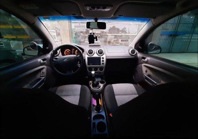 Ford Fiesta 1.6 2012 Completo! 8v motor Rocam - Foto 5