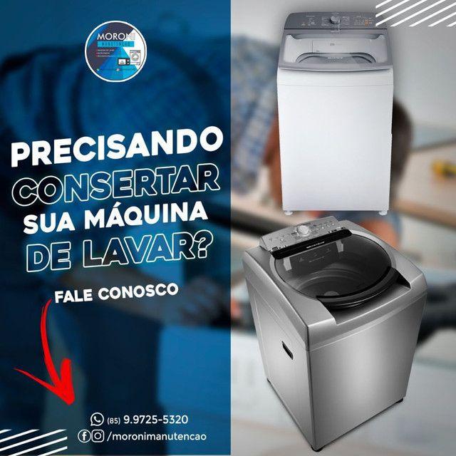 Concerto em máquina de lavar micro-ondas em domicílio