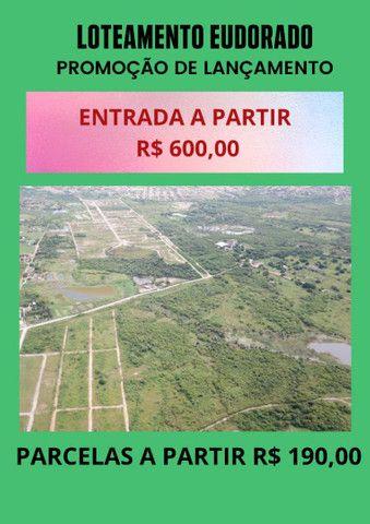 Promoção no Lote 10 min do centro de Maracanaú entrada de 600