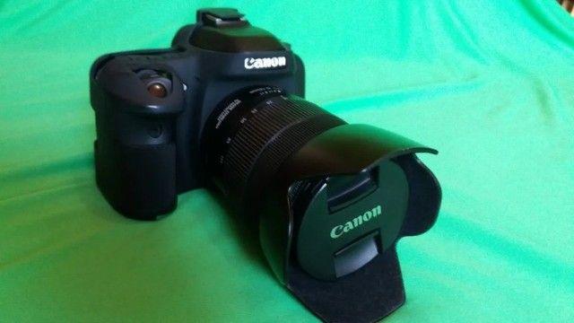 Câmera Cânon 80d + Kit