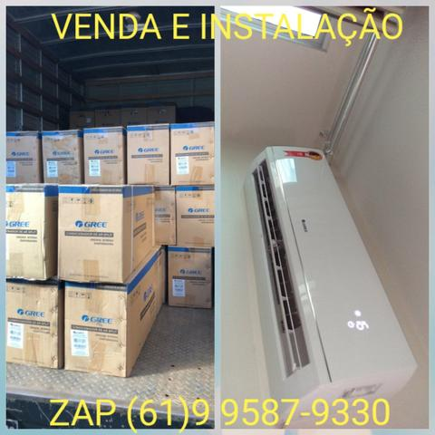 Promoção de instalação e venda de ar condicionado