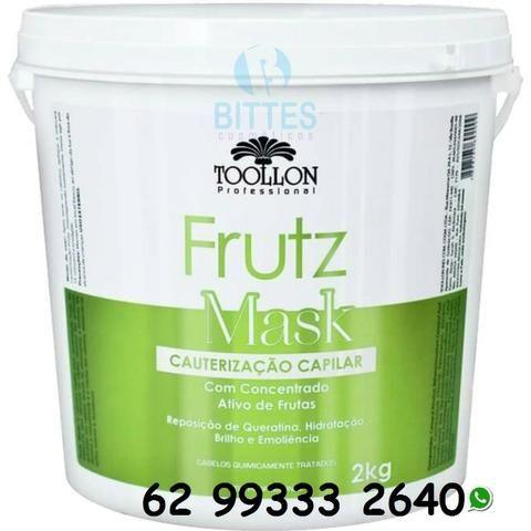Cauterização Capilar - 100% Vegetal 2 Kg Toollon Cosméticos
