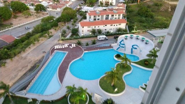 Vendo apartamento no Condomínio Lual de Ponta Negra 56m² 2/4 sendo uma suite, andar alto - Foto 2