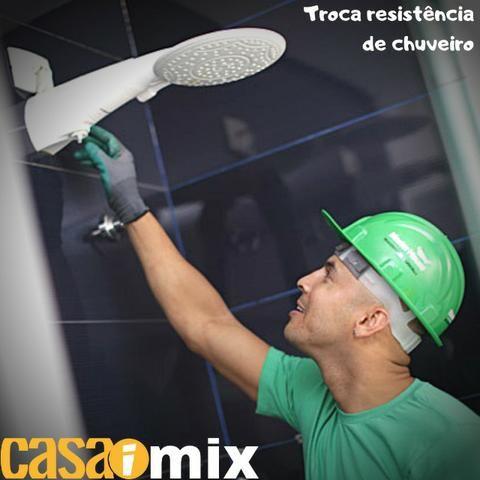 Serviço Mão de obra para trocar resistência de chuveiro