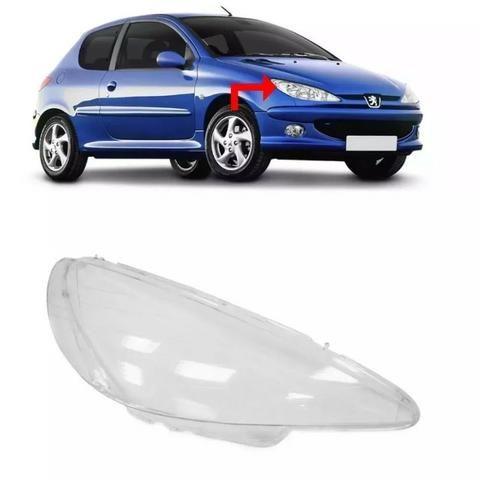 Lente Farol Peugeot 206 2004 2005 2006 08 2009 2010 Direito