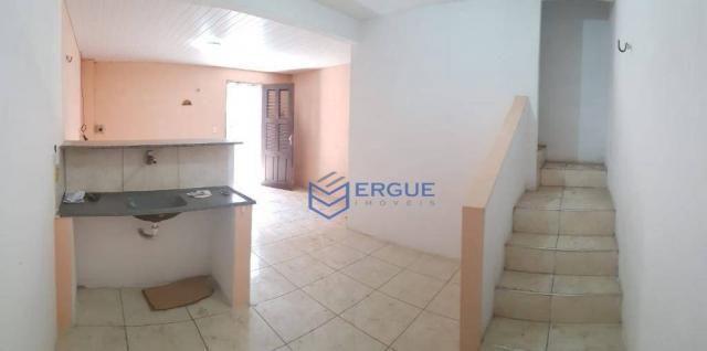 Casa com 2 dormitórios para alugar e vender, 60 m² por r$ 450,00/mês - dias macedo - forta - Foto 4