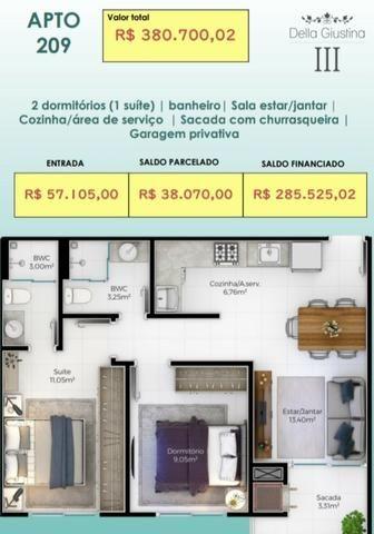 Floripa# Apartamento 400 mts do mar,com 2 dorms,1 suíte.!! * - Foto 2