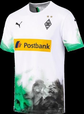Camisa Borussia Monchengladbach 2019/2020 Pronta Entrega