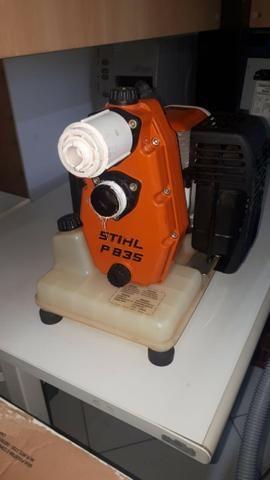 Moto bomba portátil a gasolina stihl P835 revisada com garantia *leia descrição - Foto 2