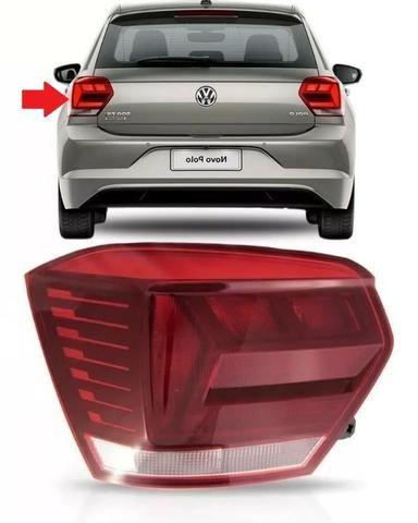 Lanterna Traseira Volkswagen Polo Hatch 2018 Esquerdo Origin